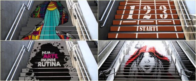 Swab_Stairs_barcelona